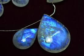 we have 2 large rainbow moonstones and just wanted to share the beautiful blue fire moonstones here honestly we really love these stones
