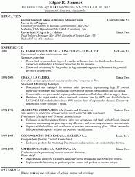 Download Example Job Resumes
