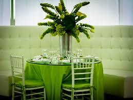 Green Wedding Table Decoration Wallpaper
