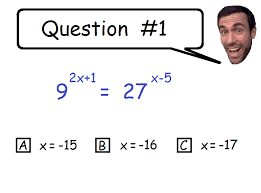 solving exponential equations practice
