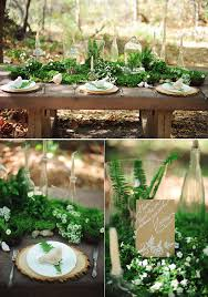 wedding decorations for tables. Greenery Filled Forest Wedding Table Ideas Decorations For Tables