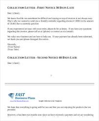 Collection Notice Letter Template