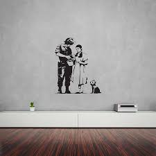 banksy wizard of oz stop and search wall art on wizard of oz wall art with banksy wizard of oz stop and search wall art by vinyl revolution
