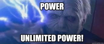 Unlimited Power Emperor memes | quickmeme via Relatably.com