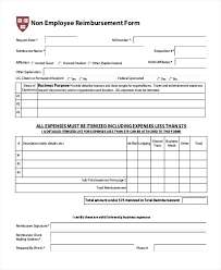 Free Expense Reimbursement Form For Excel Generic Template Resume ...