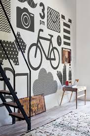 Wall Decor Design Graphics Motif nonwoven university Pinterest Flat design Office wall 2