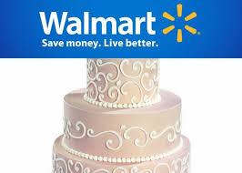 Wedding Planning Walmart Serves Up Wedding Cakes Blackbridecom