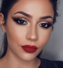 if you like smoky eye red lips you might love these ideas