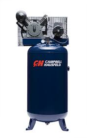 air compressor 80 gallon vertical two stage 14cfm 5hp 208 230v 1ph campbell