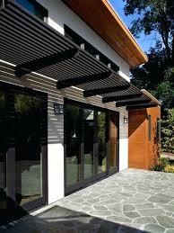 front door canopyA Modern Front Door Canopy Modern Door Awning Modern Front Door