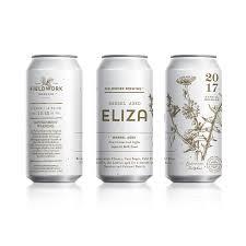 Eliza Design Can Label Design For Fieldwork Brewing Co Barrel Aged