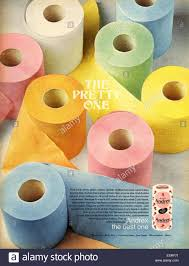Design Your Own Toilet Paper Uk Andrex Toilet Paper Came In All These Colours In 1970 I
