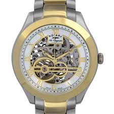 skeleton watches rotary watches rotary mens jura automatic skeleton watch