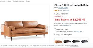 poly bark leather sofas are they