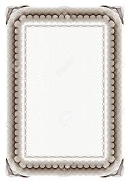 white certificate frame blank brown certificate frame on white background