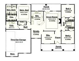 1200 sq ft ranch house plans with basement sf 1500 floor architectures outstanding