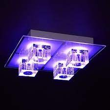 3 x colour changing led ceiling light