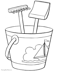 More than 600 free online coloring pages for kids: Beach Coloring Pages Sheets And Pictures