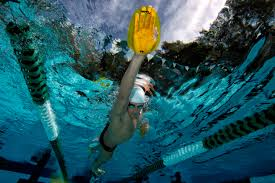 Finis Agility Paddles Talking To The Fish