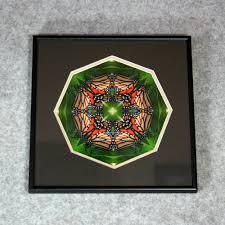 erfly sacred geometry wall decor mandala wall art monarch melody framed