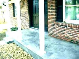 best paint for concrete porch painted floors coating patio to look like stone be how to paint concrete patios painting patio ideas best