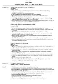 Operations Supervisor Resume Sample Field Operations Supervisor Resume Samples Velvet Jobs 1