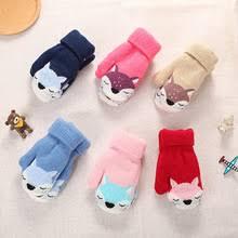 Зимние рождественские детские теплые <b>перчатки</b>, первичные ...