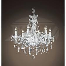 6 light crystal chandelier gorgeous lighting crystal chandeliers maria style 6 light crystal chandelier camilla 6