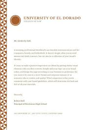 Brown Pattern Welcome Letter To Parents Templates By Canva