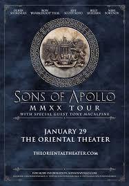 Sons Of Apollo - The Oriental Theater