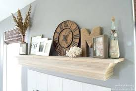 tips to and decorate your fireplace mantel shelf diy mantel shelf view in gallery easy diy