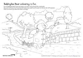 Paddington Bear Coloring Pages Draw This