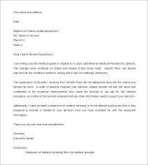 Letters Of Appeal Medical Appeal Letters Appeal Form Template Best Medical Billing