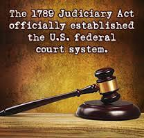 「the Judiciary Act of 1789」の画像検索結果