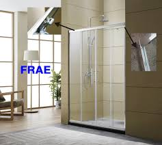 china two fix two sliding shower enclosure baththub door screen bathroom shower box tempered glass door bathroom accessories china shower screen