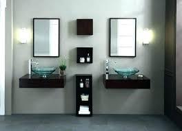 modern bathroom wall cabinets. Wonderful Cabinets Wall Mounted Bathroom Vanities Cabinets Sink  Modern Mount Vanity   On Modern Bathroom Wall Cabinets
