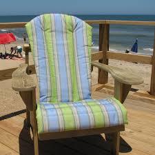 adirondack cushions high back patio chair porch swing with cushions