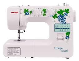 Электромеханическая <b>швейная машина Janome Grape</b> 2016 ...