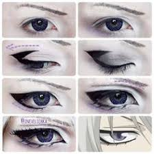 tomoe makeup tutorial lenses from uniqso requested by tomoes shrine i am anime eye