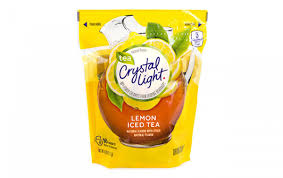 Does Crystal Light Raspberry Iced Tea Have Caffeine Crystal Light Drink Mix Pitcher Packs Iced Tea 16 Count