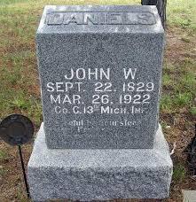 John Wesley Daniels (1840-1922) - Find A Grave Memorial