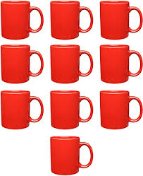 From wikimedia commons, the free media repository. Amazon Com Ceramic Coffee Mugs Traditional 11 Oz Mug 10 Pack Cups Hold 11 Ounces Of Hot Chocolate Or Tea Red Kitchen Dining