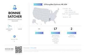 Bonnie Satcher, (601) 483-7483, 129 Long Blvd, Quitman, MS | Nuwber