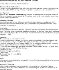 mainframe administration - Mainframe Sample Resume