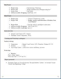 Mechanical Engineer Resume For Fresher Resume Formats Sample Cv Mechanical  Engineer Fresher