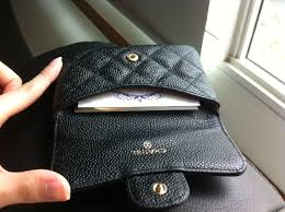 chanel card holder. attached thumbnails chanel card holder l