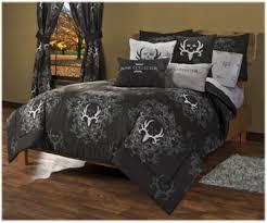 Bone Collector Black Grey Bedding Collection