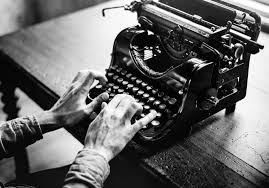 Image result for black man on a typewriter