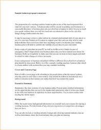 Business Proposals Templates Business Proposal Examples Under Fontanacountryinn Com