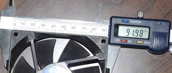how to measure fan size how do you measure pc fan size solved components